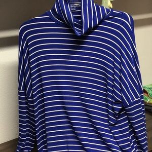 MICHAEL Michael KORS loose turtleneck top size L